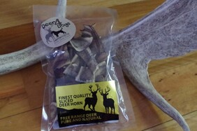 Deer 4 Dogs velvet antler chips 40 grams